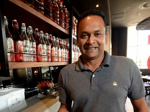DOUBLE SERVE: Ribs and Rumps franchisee Salesh Ramswarup will be kept busy during Beef Australia 2015, running two restaurants.