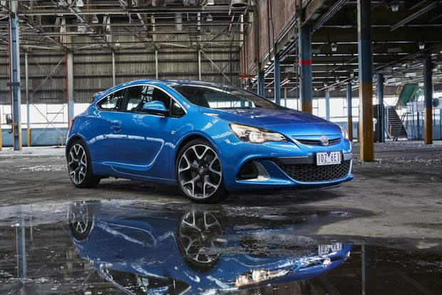 The Holden Astra VXR.
