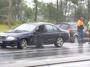 Crash on Cunningham Highway