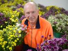 FLOWER POWER: Endeavour Foundation's farm foreman Arthur Reck is hoping that the rain eases off so his flowers will have a chance to bloom before Motrher's Day. Photo: Max Fleet / NewsMail