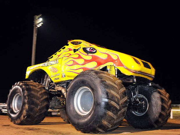 FRASER COAST SHOW: Monster truck Outback Thunder will blast around the track at the Fraser Coast Show.