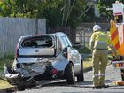 Power lines brought down in North Mackay crash