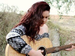 Moranbah's Kiarra Lee sings her new song
