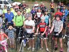 Capricorn Coast cyclists take a leisurely ride together