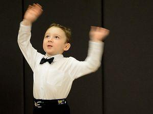 Cutest little kid at the Ipswich Eisteddfod