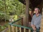 GROWING: Mark Skinner, principal of Narrows Escape Rainforest Retreat in Montville, says certification through EcoTourism Australia took years but was worth it.