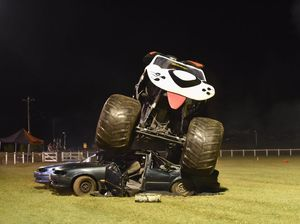 Monster trucks rev up Fraser Coast show