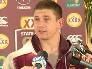 Maroons mystery: how did Justin Hodges cut his foot?