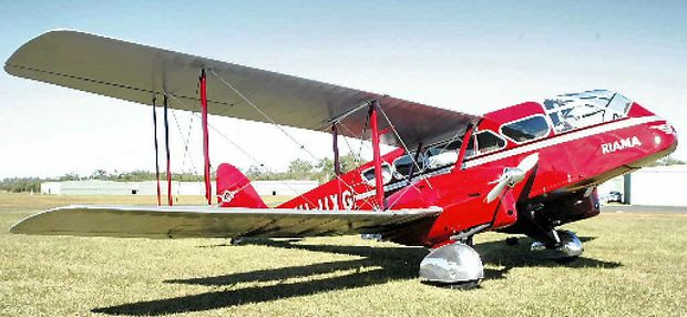 ALLEGATIONS: The vintage biplane which crashed near Imbil in 2012, killing six people.