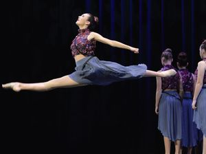 Contemporary Dance at the Junior Eisteddfod