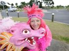 Gillian Goddard is participating in the Dragons Abreast global party at Yamba Bay on Saturday. Photo Debrah Novak / The Daily Examiner