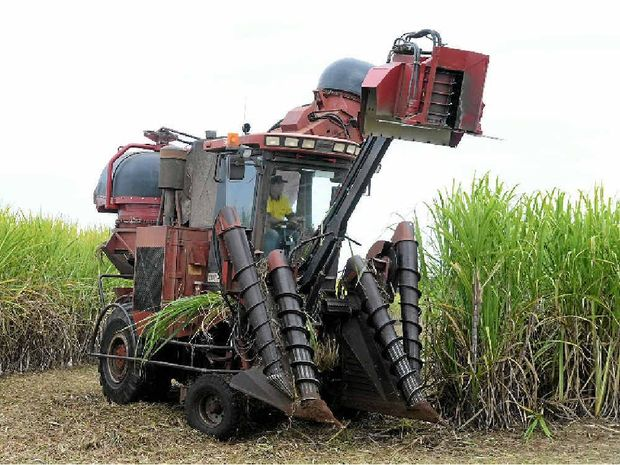 NEW RULES: Moving cane harvesters will now require a police escort, a move that has growers upset.