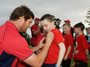 Greg Holmes in starting side as Reds tackle Brumbies