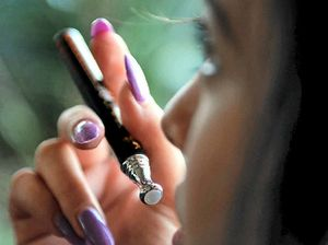 """While """"vaping"""" has been seen as a healthier alternative to smoking, a new study suggests it could have impacts on unborn children."""