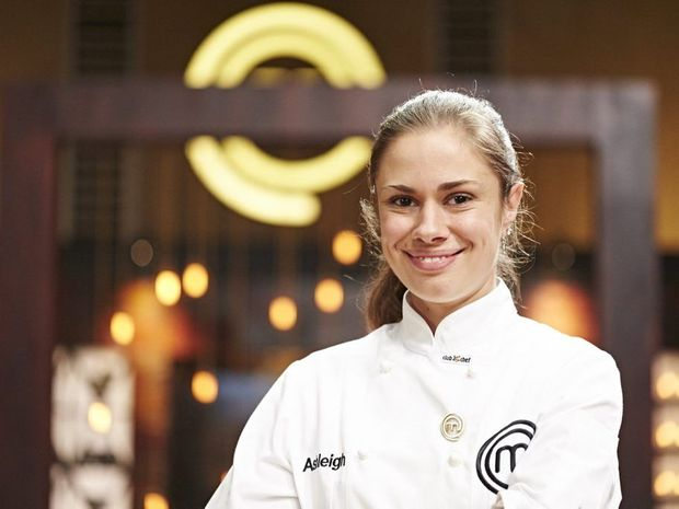 Ashleigh Bareham showed her Buderim pride with her ginger dish securing her immunity on Masterchef.