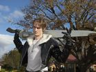 Michael Talboy chose Squall Leonhart as his character from video game Final Fantasy 8 for the Toowoomba Cosplay gathering