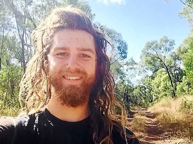 STOPOVER: Adventure-seeker Tim Shmigel is travelling from Canberra to Cooktown to raise money for Lifeline. He has just passed through Biloela and Kroombit Tops.