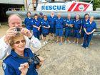COMMONSENSE: Coffs MP Andrew Fraser with Woolgoolga Marine Rescue volunteers.