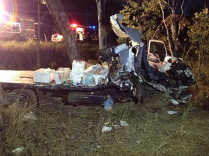 32-year-old man still serious after two trucks collide