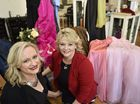 "Paula Lucas (left) the owner of Romeo and Juliet Hair Studio and Gay Hold from Jazzy Lane Hair Studio have started teh ""Glam Team"" to give free dresses, hair, makeup to highschoolers who can't afford it for formals. Photo Bev Lacey / The Chronicle"