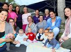 MUM'S THE WORD: Some of the 40 mothers and members of the Midwifery Group Practice met for a morning tea. The MGP formed in September 2014 to facilitate women for normal birth in a safe environment.