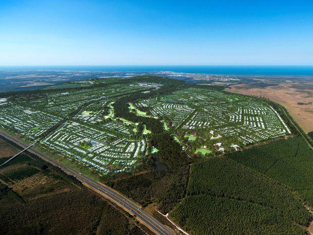 Proposed Caloundra South site.