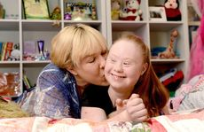 Down Syndrome model Madeline Stuart has secured her first modelling contract. Pictured with mum Rosanne Stuart. Photo: Kate Czerny / The Queensland Times