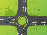 Gladstone Police have released some tips on how to safely navigate through a roundabout.
