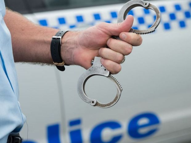 A man and woman were arrested following a police chase last night at Blacksoil.