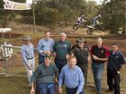 MOUNTAIN MEN: Bryan Flemming (front, left), Brett Ebneter, (back, from left) Kevin Flemming, Russell Bentley, Rod Pugh, Geoff Udy, Lawrie Asgill and Phil Keable are happy to see the iconic Mountain Man motocross event coming back to Echo Valley.