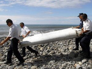 Relative confident debris is from MH370