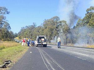 Multi-vehicle crash near Glenugie
