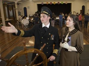 Come aboard, Titanic almost ready to set sail