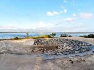 Council's big hole at Golden Beach sparks flooding fear