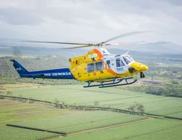Elderly man airlifted after two-vehicle crash