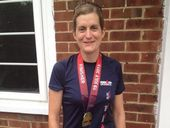 FORMER Brassall resident Andrea Whelband recently conquered some remarkable personal challenges to complete the gruelling UK Ironman event.