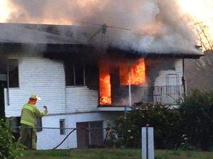 Fire destroys Ipswich home
