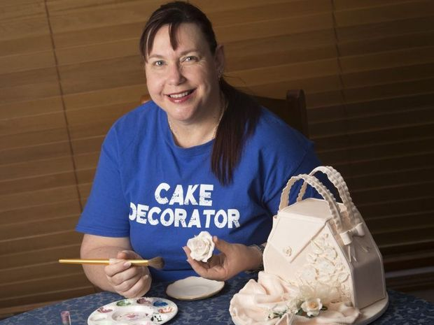 louise takes the cake at ekka competition queensland times. Black Bedroom Furniture Sets. Home Design Ideas