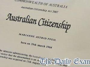 Marianne's citizenship ceremony