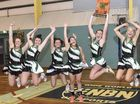 JUBILATION: Maclean High School celebrates winning the Daily Examiner Open Netball Challenge final. PHOTO: ADAM HOURIGAN