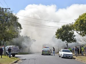 House fire at Leichhardt