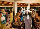 CLOTHES GALORE: Last year's Swap It Forward. Photo contributed / Whitsunday Times