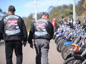 Bikie Laws: MP compares bikie logos to burqas