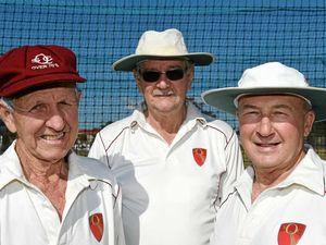 Seniors cricketer Les Price