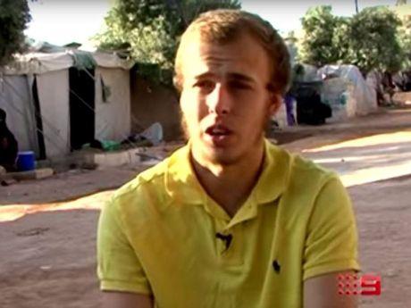 Current Affairs program 60 Minutes interviews Oliver Bridgeman. Photo Contributed