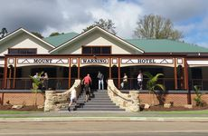 The Mount Warning Hotel began trade on Saturday. The official launch is next week.