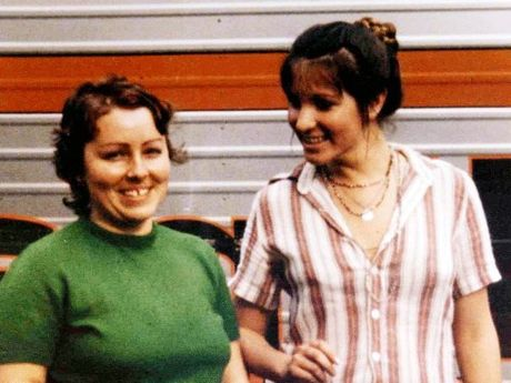 Sydney nurses Lorraine Wilson and Wendy Evans, murdered Murphys Creek in 1974. Contributed State Coroner's Office