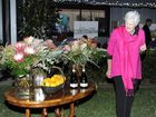 Bizzy Fahey is helping out with the auction at the Gallery Foundation's 'Dinner In the Paddock' at Turtle Creek Farm at Southgate on Saturday night, 29th August, 2015. Photo Debrah Novak / The Daily Examiner