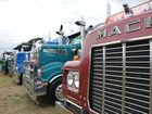 Trucks at the Lowood Truck Show on August 29. Photo Carly Morrissey / Big Rigs