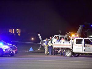 Emergency landing Maroochydore airport
